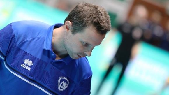 Наставникът на волейболният Левски Андрей Жеков призна след загубата от