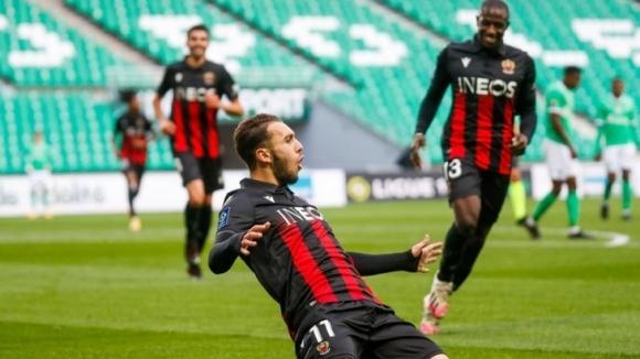 Ница победи с 3:1 като гост на Сент Етиен в