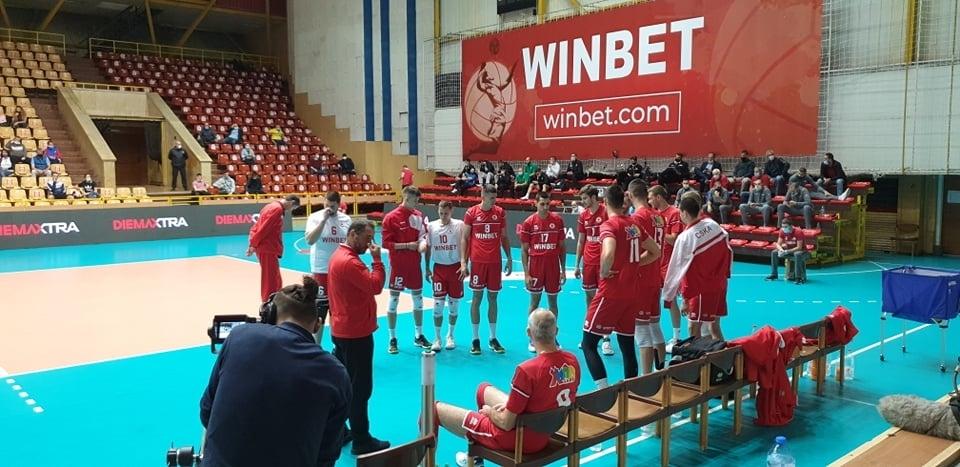 Волейболистите на ЦСКА ще играят в първата осмица на Суперлигата,