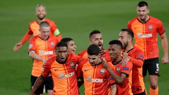 Отборите на Реал Мадрид и Шахтьор (Донецк) се изправят един
