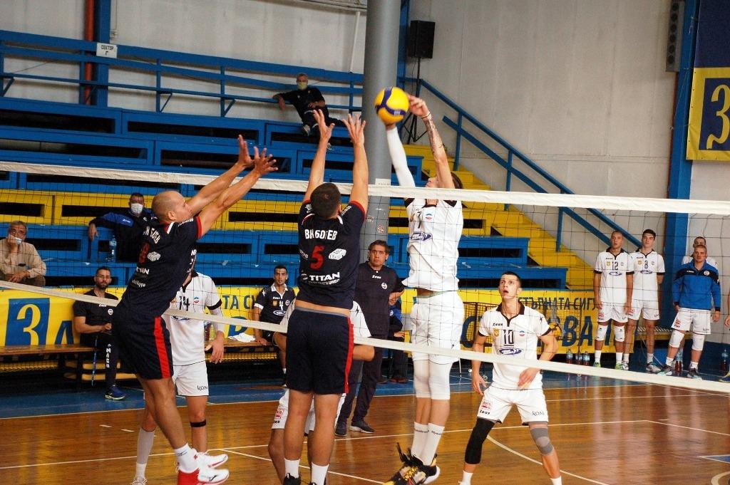Волейболният отбор на Марек Юнион Ивкони (Дупница) даде гейм и