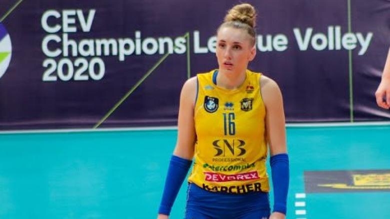 Волейболистката на Марица (Пловдив) Александра Миланова е новият ни събеседник