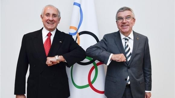Президентът на Международния олимпийски комитет (МОК) Томас Бах отхвърли евентуалното