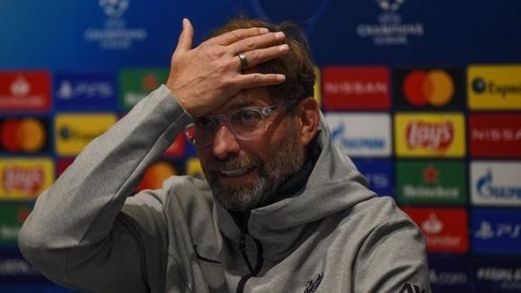 Мениджърът на Ливърпул Юрген се пошегува в типичен стил, макар