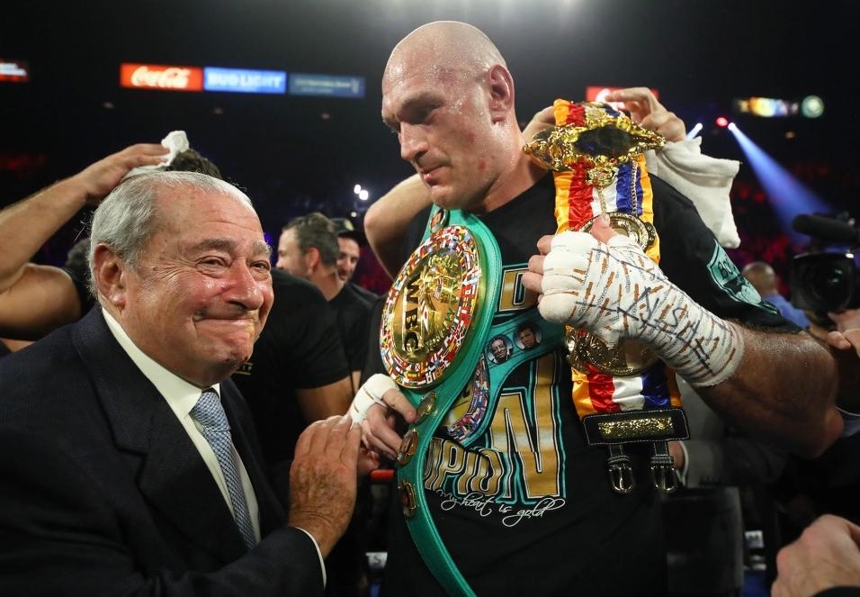 Световният шампион на WBC Тайсън Фюри е на път да