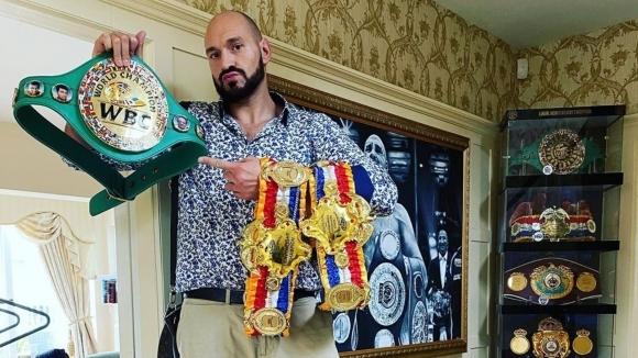 Шампионът в тежка категория на Световния боксов съвет Тайсън Фюри