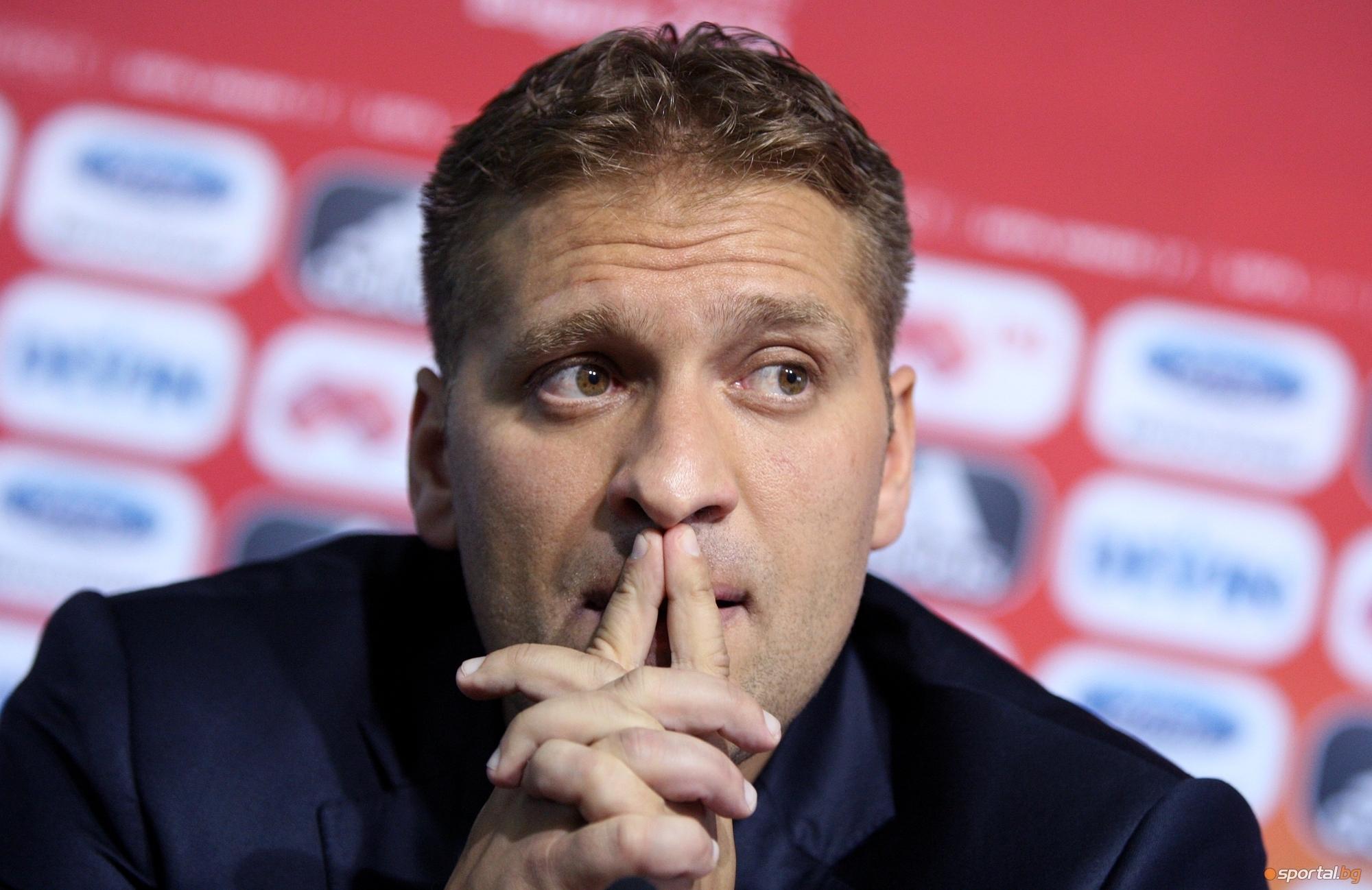 Бившият капитан на българския национален тим Стилиян Петров сподели за