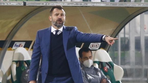 Старши треньорът на Антверпен Иван Леко коментира победата на своя