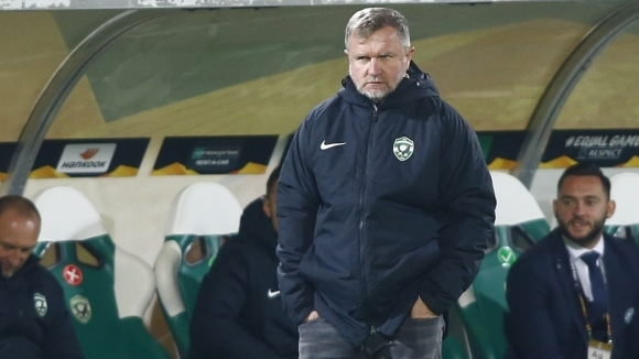 Наставникът на Лудогорец Павел Върба отдаде слабата игра на тима