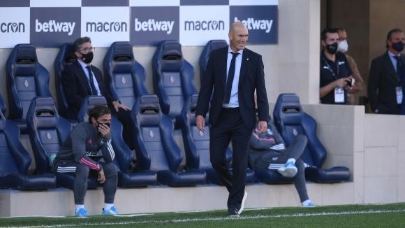 Наставникът на Реал Мадрид Зинедин Зидан има много добра статистика