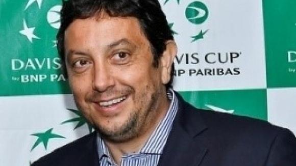 Президентът на Българската федерация по тенис Стефан Цветков получи специалната