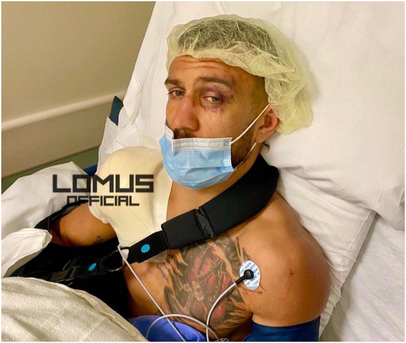 Василий Ломаченко мина успешна операция на рамото след втората си