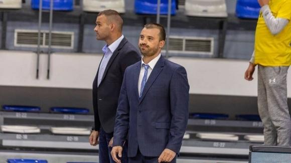 Старши треньорът на Рилски спортист Людмил Хаджисотиров изрази удовлетворението си