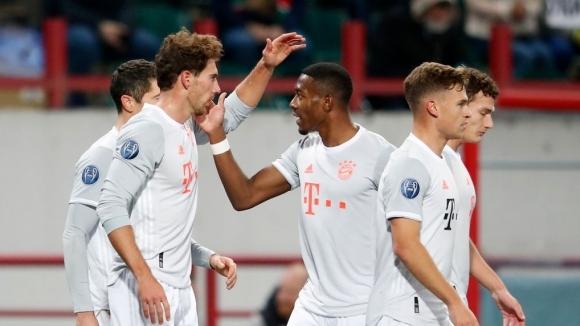 Носителят на трофея в Шампионската лига продължава участието си груповата