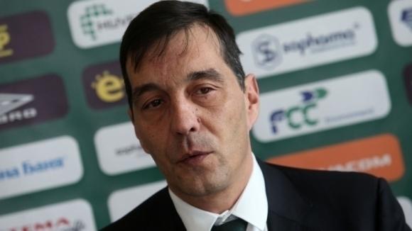 Изпълнителният директор на Лудогорец Ангел Петричев коментира предстоящия мач на
