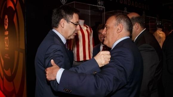 Шефът на Ла Лига Хавиер Тебас реагира много остро на
