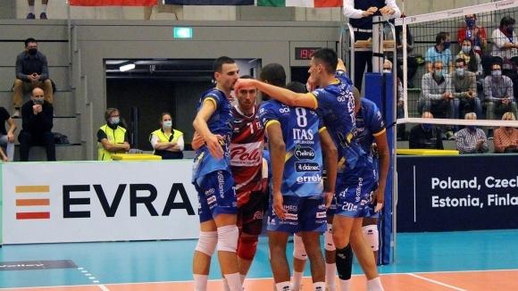 Италианският волейболен гранд Итас (Тренто) направи много важна крачка към