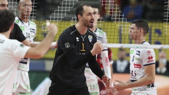 Българската волейболна звезда Матей Казийски попадна в класацията на най-добре
