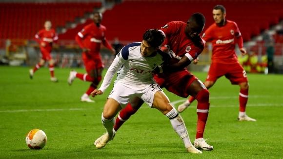 Белгийският Антверпен победи Тотнъм с 1:0 и с пълен актив