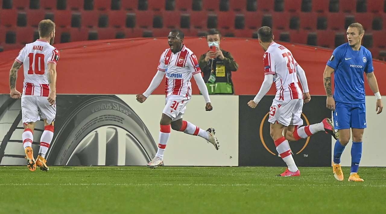 Цървена звезда записа разгромна победа с 5:1 над Слован (Либерец)