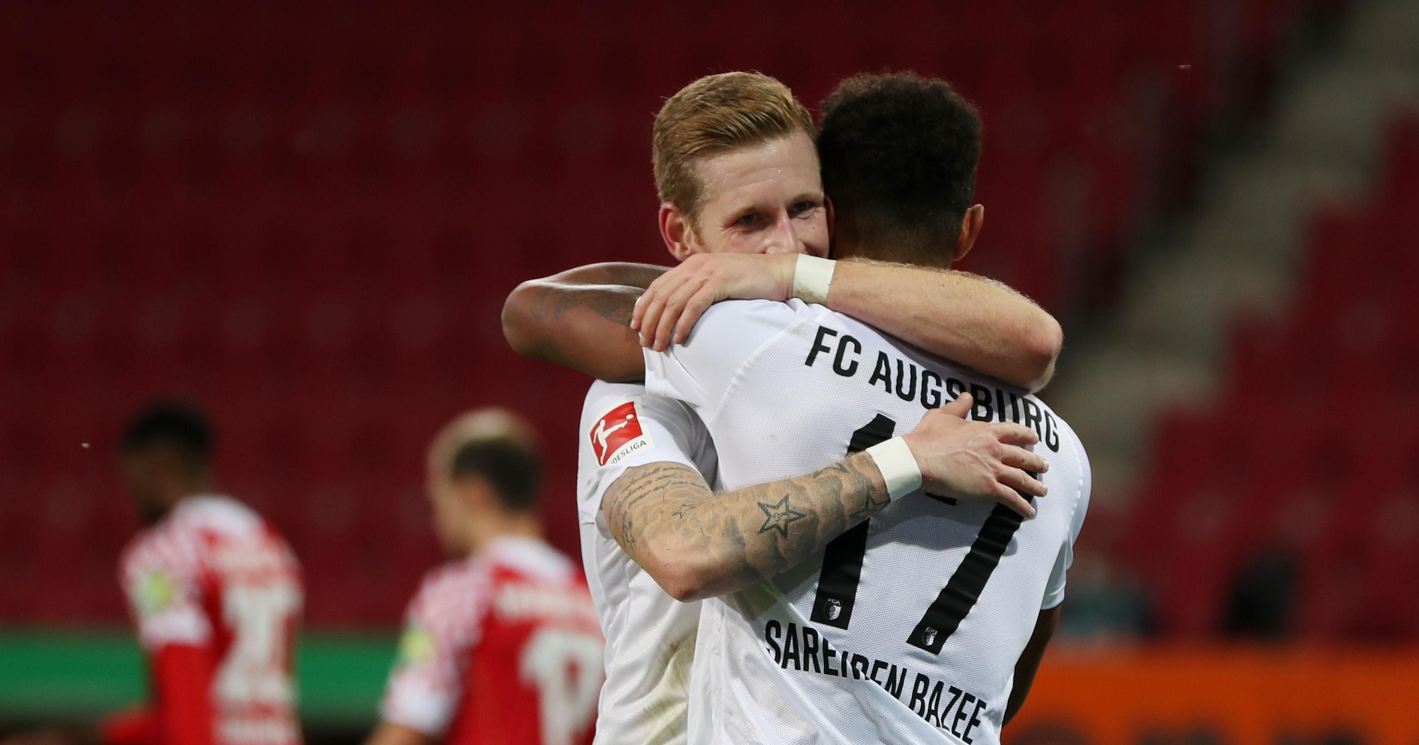 Отборът на Аугсбург се изкачи до четвърто място в Бунделсигата,