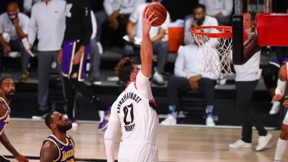 Звездата на отбора от НБА Портланд Трейл Блейзърс Юсуф Нуркич