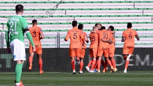 Сент Етиен записа пета поредна загуба в Лига 1, след