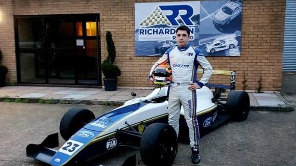 Българинът Георги Димитров ще се състезава в Британския Формула 4