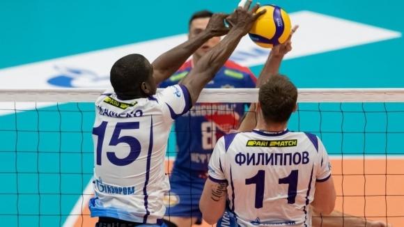 Волейболистите на Хебър (Пазарджик) се изправят срещу руския гранд Зенит
