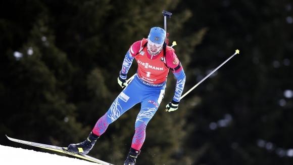 Състезатели от националния отбор на Русия по биатлон са дали