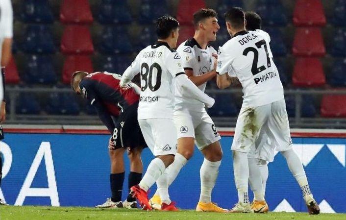 Отборът на Специя се класира за 1/8-финал за Купата на