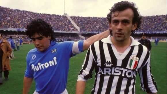 Бившият капитан на Франция и шеф на ФИФА Мишел Платини