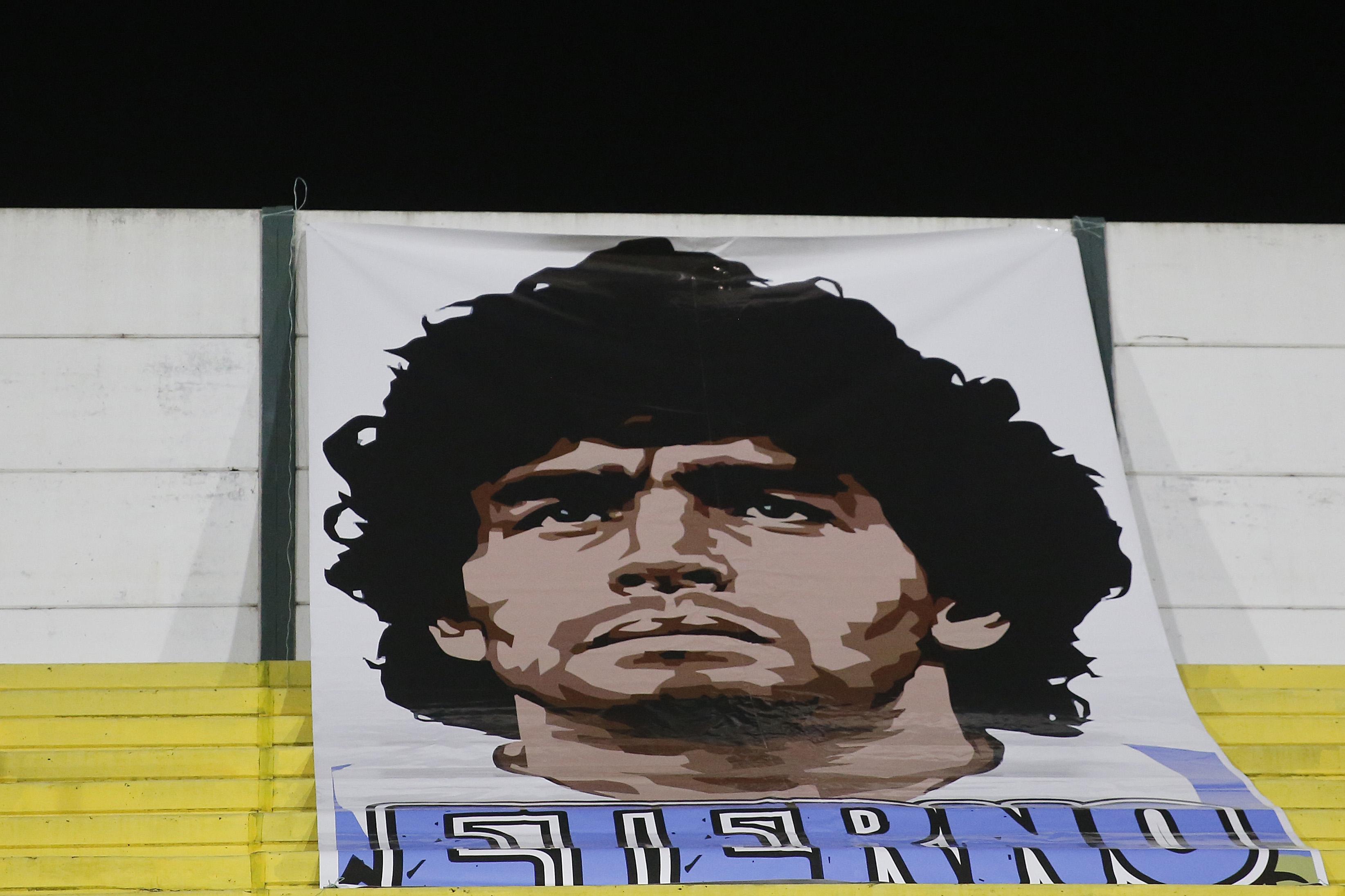 Аржентинската футболна легенда Диего Марадона, който почина на 25 ноември