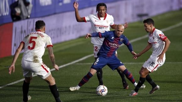 Севиля спечели с 1:0 при гостуването си на и се