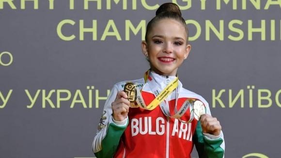Стилияна Николова спечели златен медал на лента при девойките на
