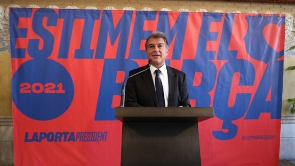 Бившият президент на Жоан Лапорта официално се кандидатира за президент