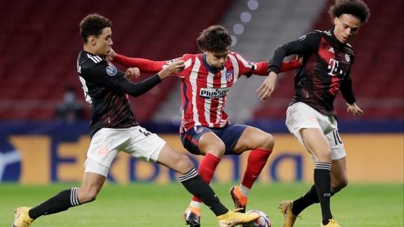 Отборите на Атлетико Мадрид и Байерн (Мюнхен) излизат един срещу