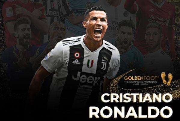 Кристиано Роналдо е тазгодишния носител на наградата