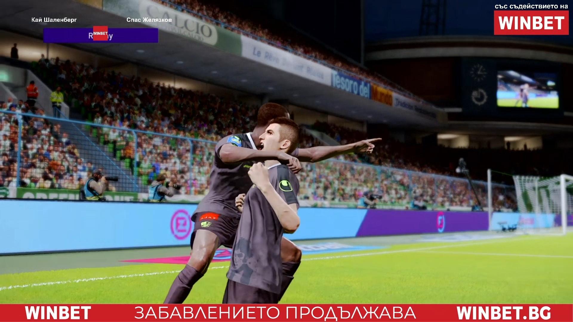 Отборът на Берое, управляван от Спас Желязков, разгроми с 5:0