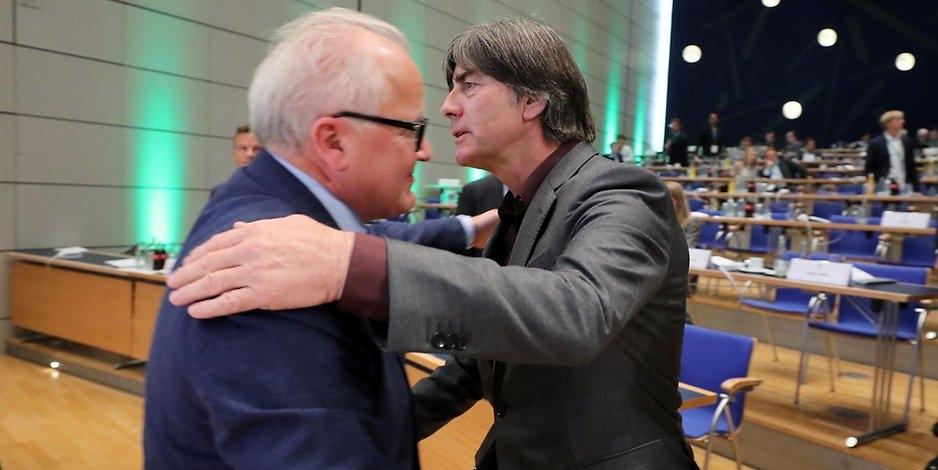 Президентът на Германския футболен съюз Фритц Келер за пореден път