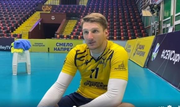 Волейболистите на Хебър (Пазарджик) оглавиха временно класирането в първата осмица