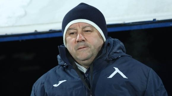Новият наставник на Левски Славиша Стоянович, който дебютира с победа