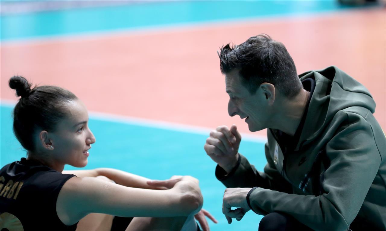 Старши треньорът на турския женски волейболен тим Вакъфбак Спор Джовани