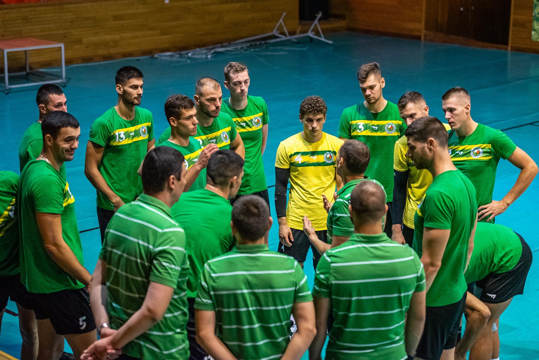 Волейболният отбор на Добруджа 07 (Добрич) от днес вече тренира