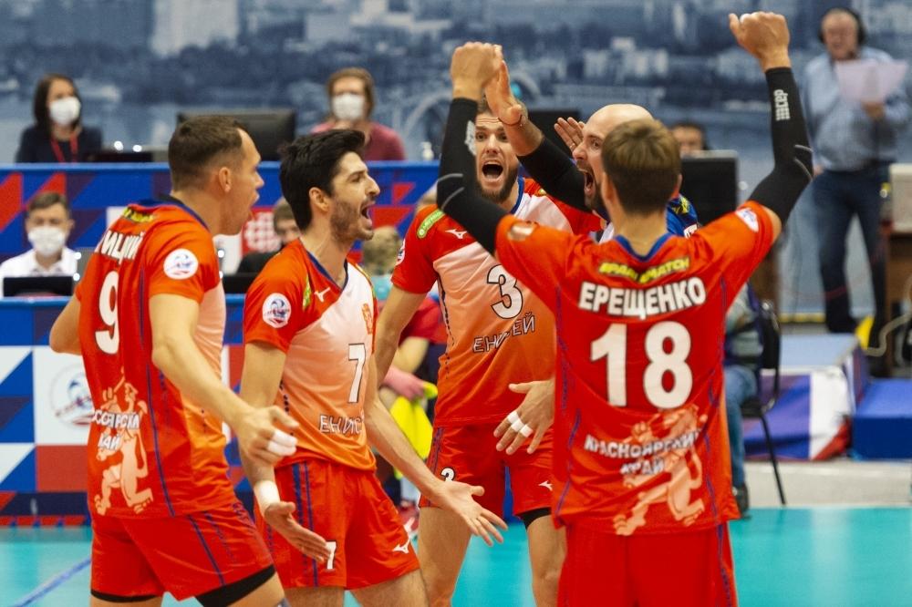 Националът Тодор Скримов и неговият Енисей (Красноярск) записаха пета победа