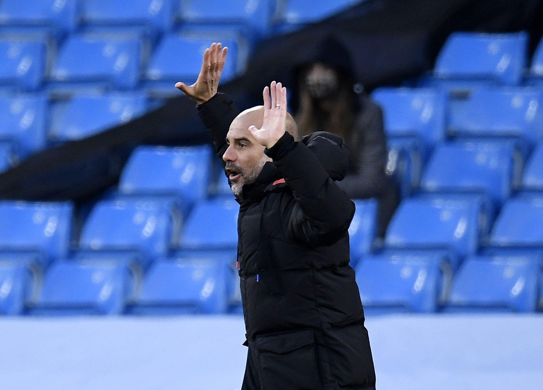 Мениджърът на Манчестър Сити Джосеп Гуардиола остана доволен от победата