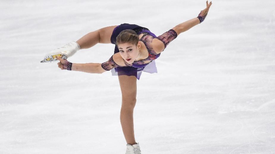 Европейската шампионка Альона Косторная няма да участва на първенството на