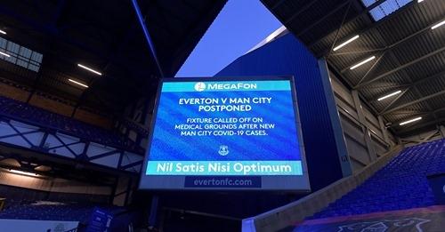 От Евертън излязоха с изявление след отложения мач с Манчестър