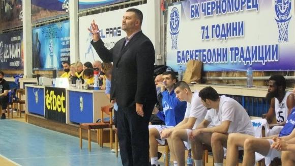 Старши треньорът на Черноморец (Бургас) Васил Евтимов сподели мнението си