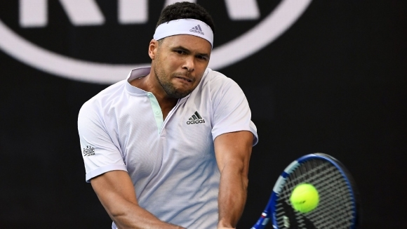 Жо-Вилфрид Цонга стана вторият тенисист след Роджър Федерер, който отказа